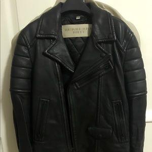 Burberry Moto Leather Jacket